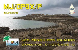 Front of our QSL-card